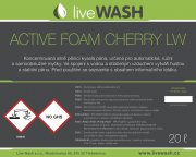 ACTIVE FOAM CHERRY LW